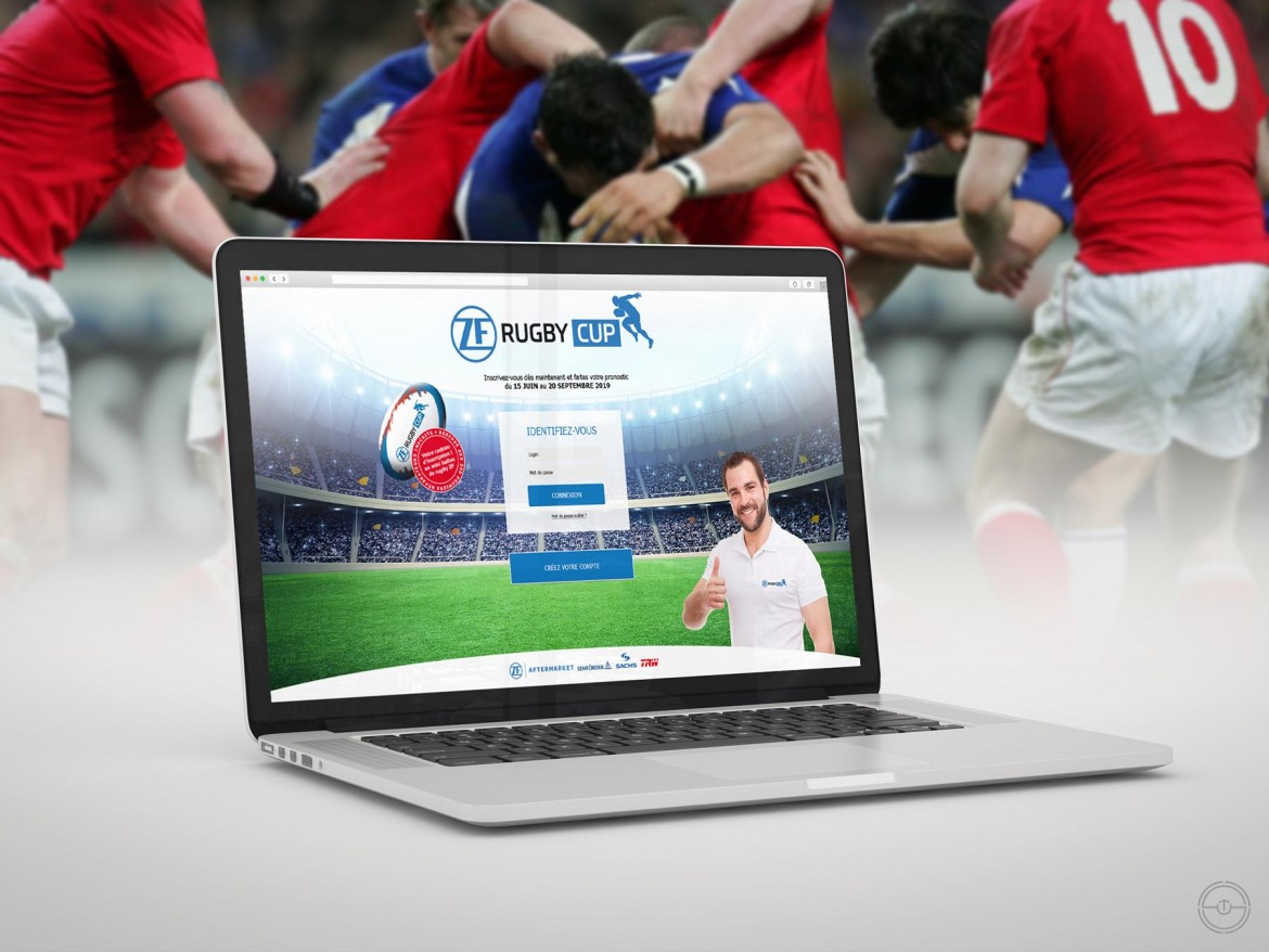 Site internet rugby cup